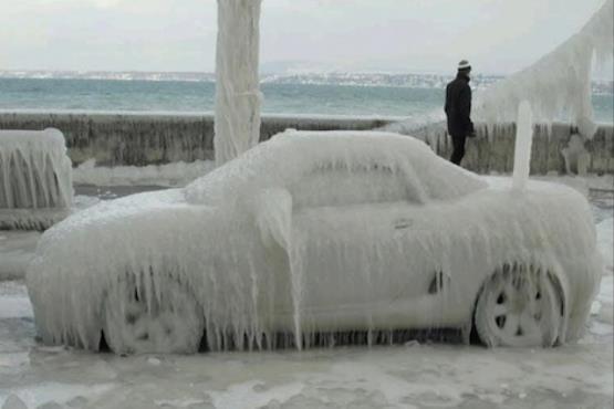 روشن کردن خودرو در هوای سرد