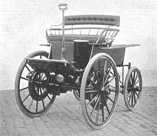 تاریخچه اتومبیل